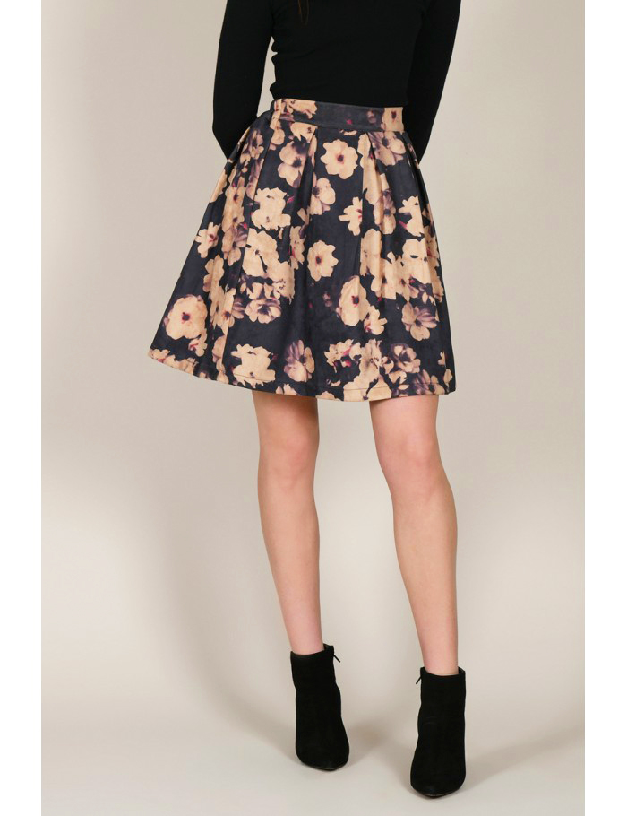 Φούστα μίνι floral-Molly Bracken