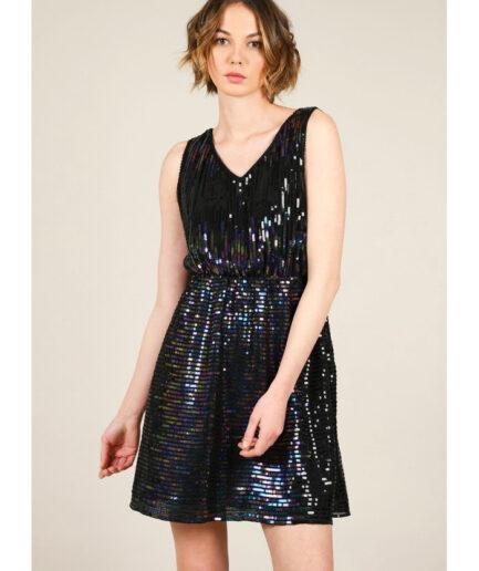 Φόρεμα με πούλιες σε γραμμή Α Molly Bracken