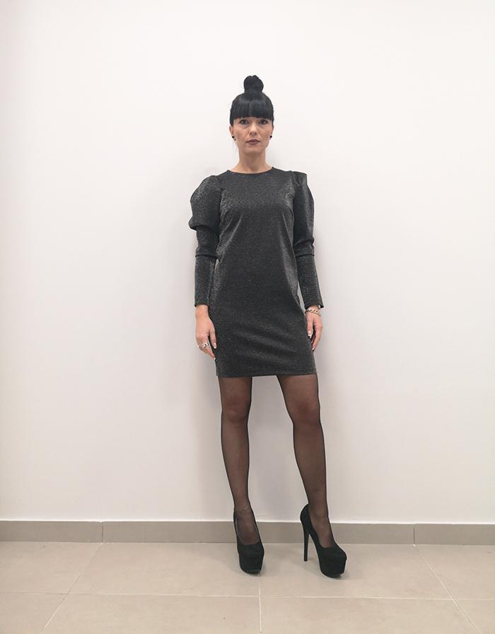 φόρεμα lurex