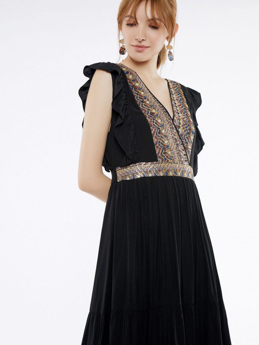Φόρεμα μακρύ rustic - Meisïe