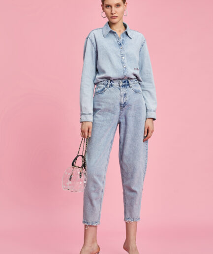 MISS SIXTY-DENIM SHIRT WITH RELAXED FIT 1