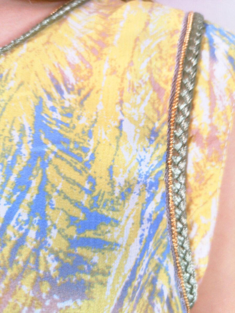 Μπλούζα με πλεκτές λεπτομέρειες
