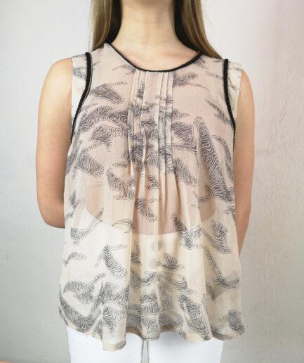 Μπλούζα chiffon kenia printed