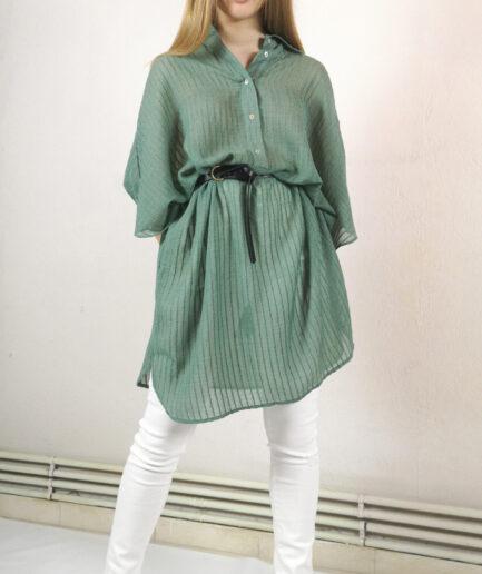 Φόρεμα Tunic με japanese μανίκι alphine