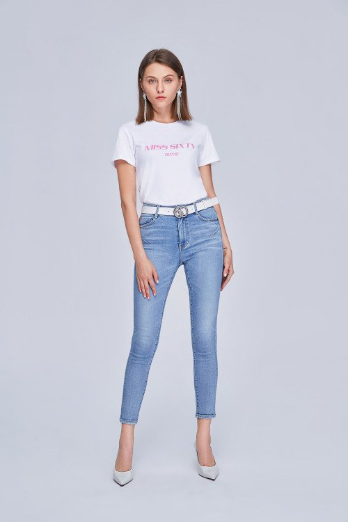 MISS SIXTY-CLASSIC SUPER SKINNY JEANS WITH PUSH-UP EFFECT