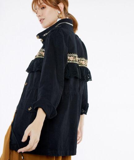 Jacket με boho λεπτομέρειες
