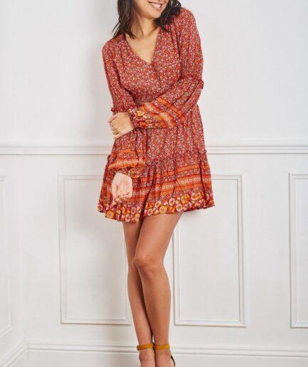 Φόρεμα Mini Boho