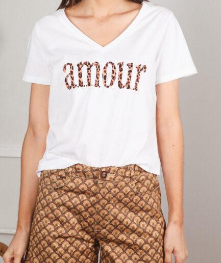 T-Shirt βαμβακερό Amor