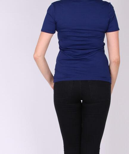 T-Shirt βισκόζη royal blue
