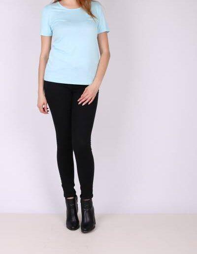 T-Shirt βισκόζη sky blue