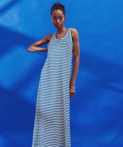 Φόρεμα μαρινιέρα maxi