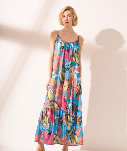 Φόρεμα Garden Blue
