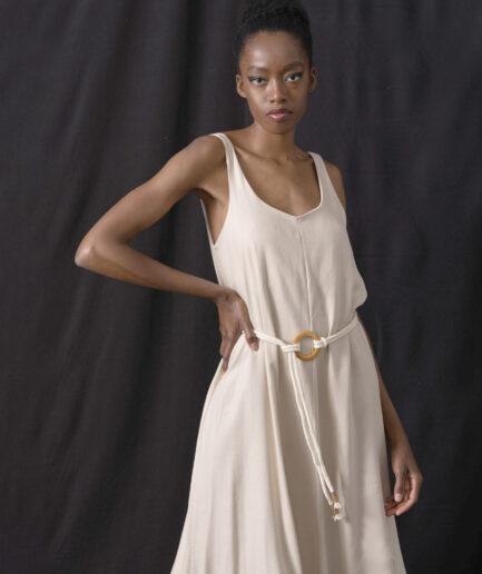 Φόρεμα maxi Sadra Sand