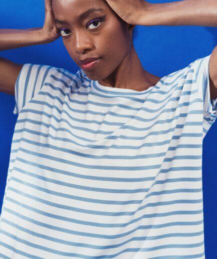 T-Shirt μαρινιέρα