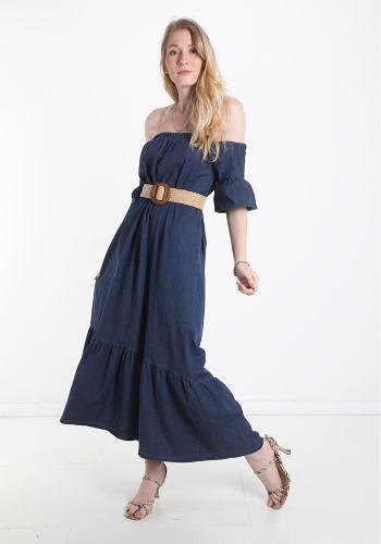 Φόρεμα Denim maxi