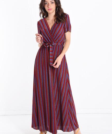 Φόρεμα maxi lurex