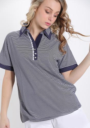 T-Shirt μαρινιέρα polo
